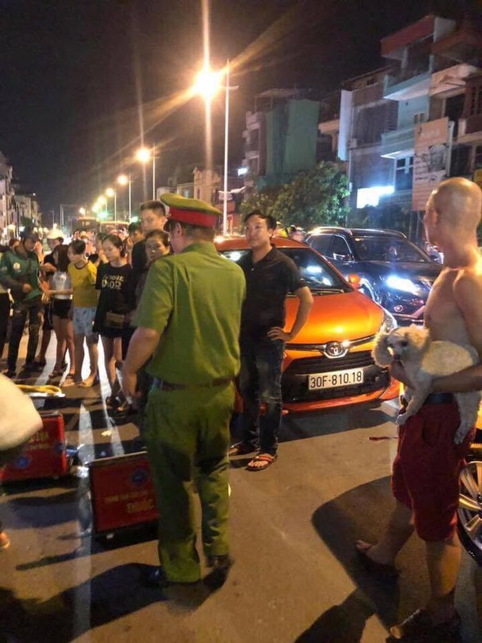 Lực lượng chức năng có mặt tại hiện trường vụ việc
