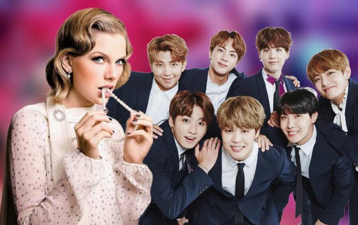 BTS bất ngờ được gọi tên trong họp fan của Taylor Swift?