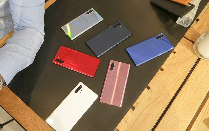 Galaxy Note10 Plus được trang bị viên pin tận 4500 mAh.
