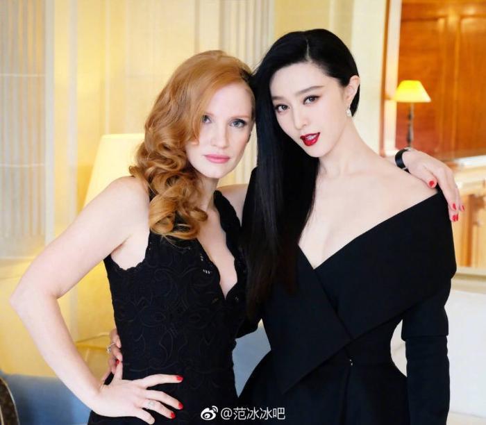Jessica Chastain và Phạm Băng Băng