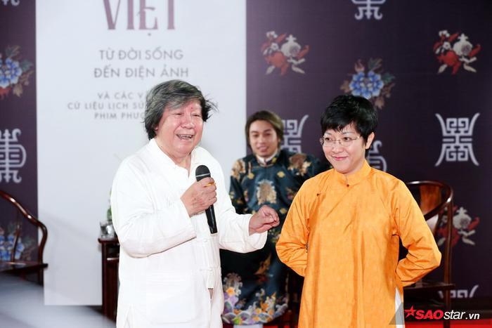 Xuất hiện trong buổi tọa đàm còn có Giáo sư Sử học Lê Văn Lan, Cố vấn Lịch sử danh dự của dự án Phượng Khấu cùng một số cố vấn đặc biệt khác.
