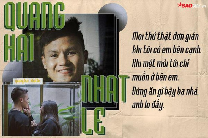 Trước khi dính tin đồn chia tay Nhật Lê, Quang Hải đã từng là viết ngôn tình của bóng đá Việt Nam.