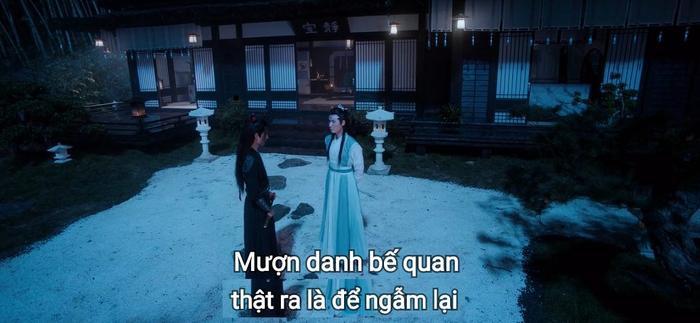 """Đây chính là nguyên mẫu của hành động """"đem một người về Vân Thâm Bất Xứ giấu đi"""" mà Lam Vong Cơ luôn ám ảnh sau này"""