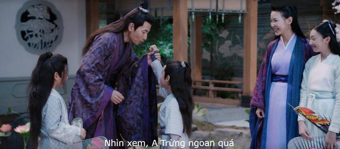Một gia đình như thế này là mơ ước xa vời đối với anh em Lam Hi Thần