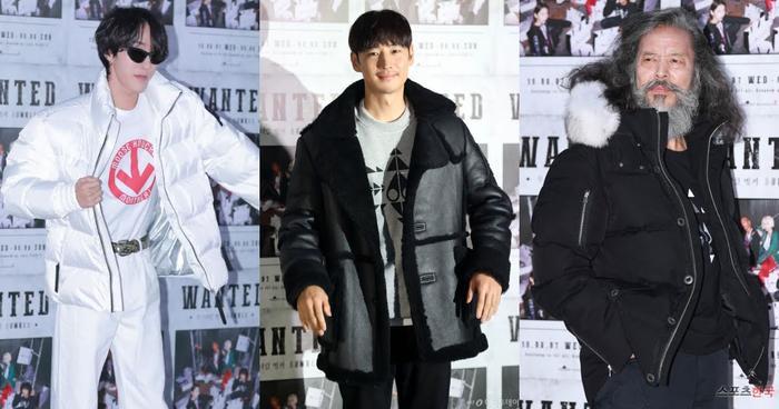 Không chỉ riêng Sohee mà dàn sao nam như Zion.T, Lee Jae Hoon, Kim Chil Doo cũng khoác trên mình tương tự những kiểu áo khoác chỉ dành cho mùa đông và không hề hợp trong khí hậu mùa hè nóng bức