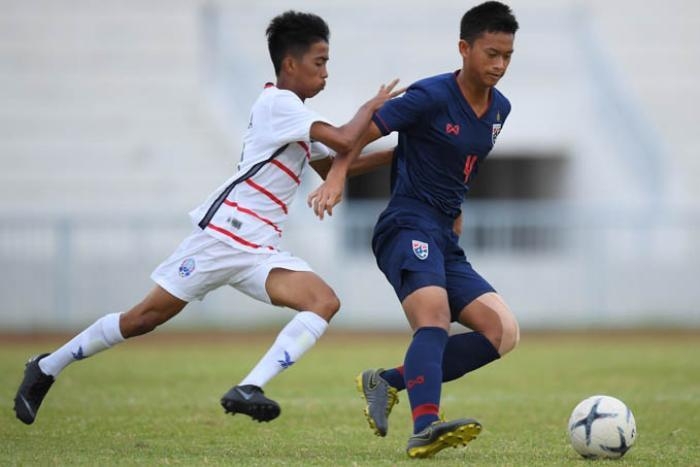 U18 Thái Lan thua 'sấp mặt' Campuchia với tỉ số khó tin