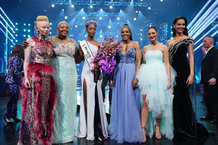 Zozibini Tunzi - Miss Universe South Africa 2019.