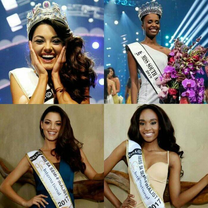 Cô từng bại trận dưới tayDemi-Leigh Nel-Peters – Cựu Hoa hậu Nam Phi 2017.