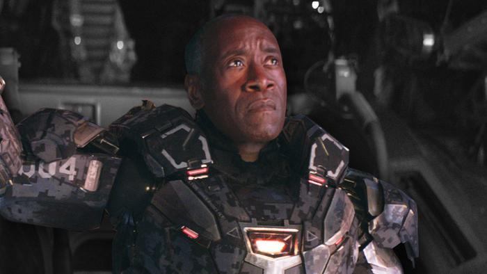 War Machine đã có câu thoại để đời, nhưng đáng tiếc lại bị cắt khỏi phim.