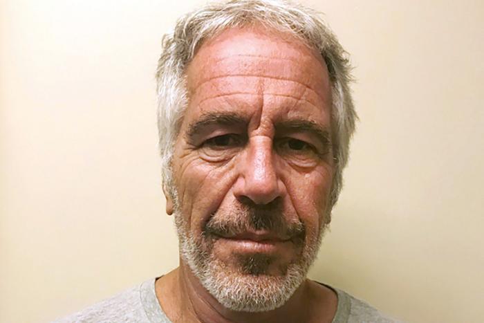 Chân dung tỷ phú Jeffrey Epstein.