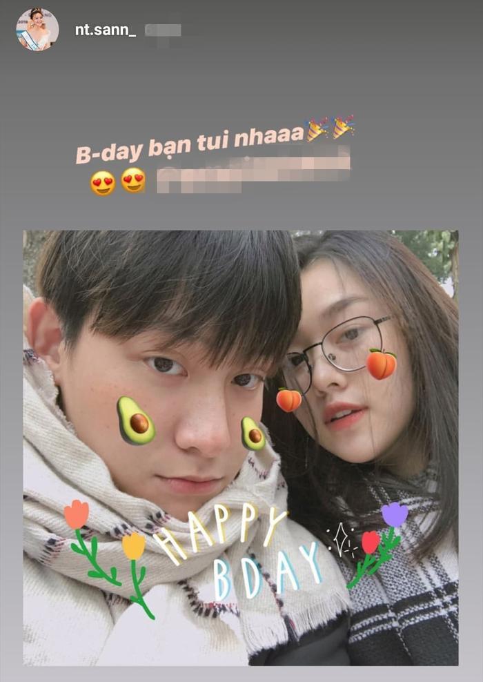 Tường San đăng ảnh mừng sinh nhật cậu bạn thân điển trai.