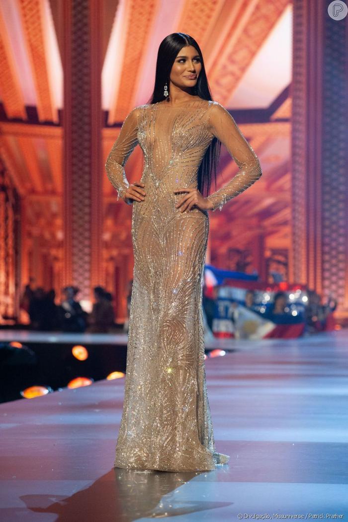 Màn trình diễn của Á hậu 2 Miss Universe 2018 –Sthefany Gutiérrez trong đêm chung kết được chuyên trang này xếp ở vị trí thứ 5.