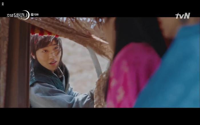 Phim Hotel Del Luna tập 10: Yeo Jin Goo vừa được phục chức hoa thần đã nở báo hiệu cái chết cận kề của IU? ảnh 23