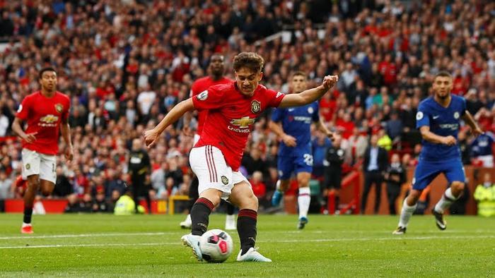 Tân binh Daniel James ấn định chiến thắng 4-0 cho M.U.