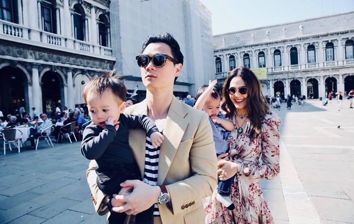 Gia đình hạnh phúc của mỹ nhân Chompoo