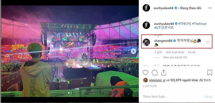 TFBOYS và Eunhyuk (Super Junior) gửi lời cảm ơn nhau, Dịch Dương Thiên Tỉ thích thú gọi ca ca ảnh 8
