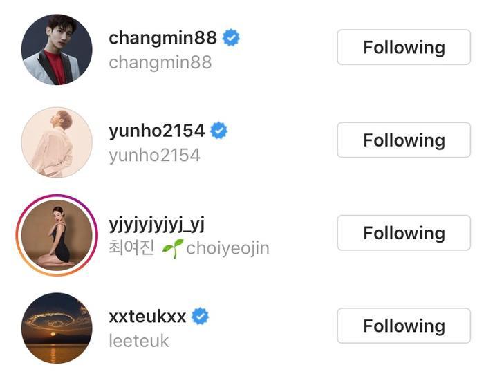 Các nghệ sĩ like bài viết của Eunhyuk.