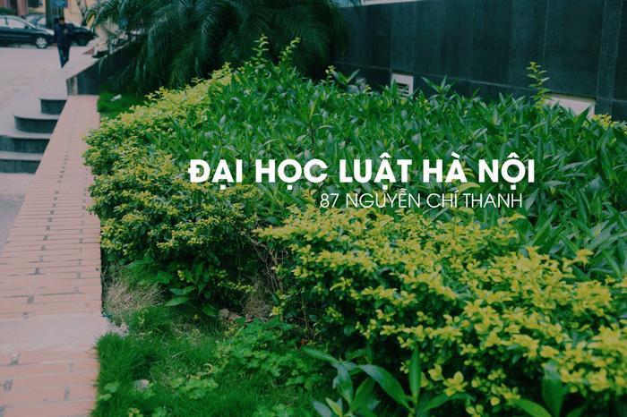Đại học Luật Hà Nội tọa lạctại số 87 Nguyễn Chí Thanh, Đống Đa, Hà Nội.
