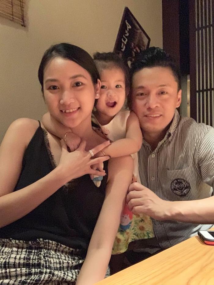 Gia đình nhỏ hạnh phúc của Lam Trường và Yến Phương.
