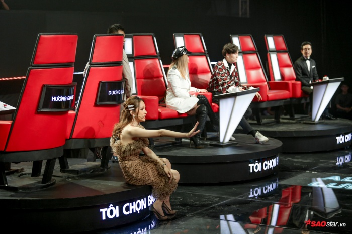 Đội Hương Giang – Dương Cầm bị chặn ngay tập đầu tiên vòng Giấu mặt.