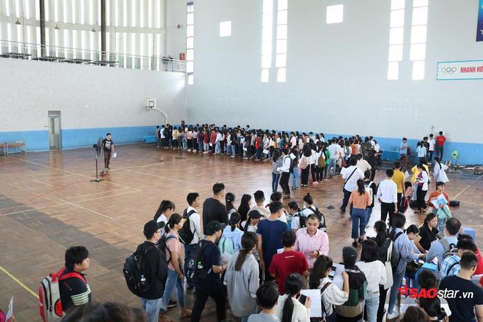 Các thí sinh được tổ chức khám sức khỏe đầu năm học để sẵn sàng bắt đầu học tập theo lịch học của Nhà trường.