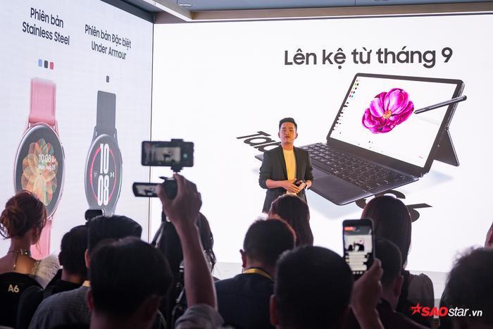 Dự kiến,Galaxy Watch Active 2 và Galaxy Tab S6 sẽ được lên kệ bắt đầu từ cuối tháng 9 tại một số thị trường chọn lọc, trong đó có Việt Nam.