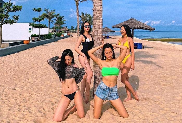Thảo Mi và hội bạn thân thường xuyên đi nghĩ dưỡng ở những resort sang trọng mỗi khi rãnh rỗi.