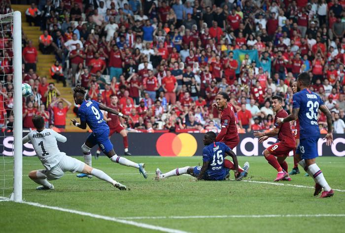 Thủ thành Kepa có trận đấu rất xuất sắc hoá giải nhiều cơ hội của Liverpool.