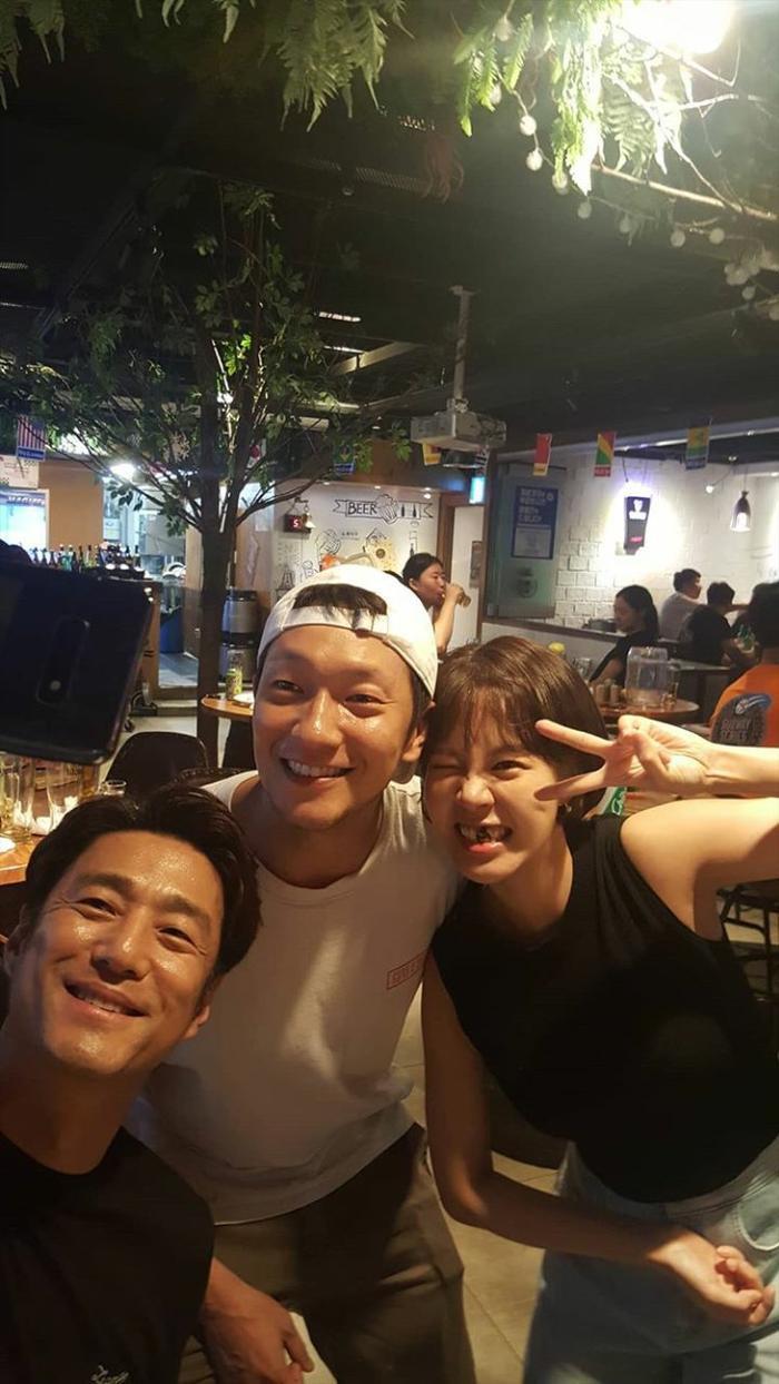 Ji Jin Hee, Son Seok Koo và Choi Yoon Young vô cùng đáng yêu