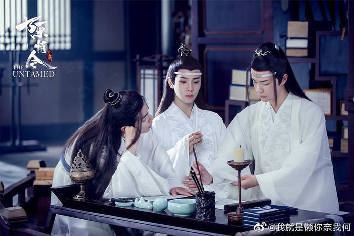 Bức ảnh gia đình hòa thuận với sự xuất hiện nổi bật của tiểu thiếu gia Lam Tư Truy – người thừa kế chính thống nhất hiện nay của tập đoàn Gusu.