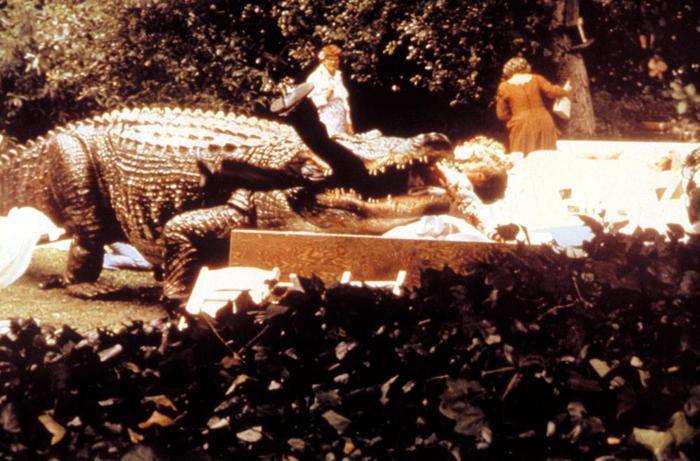 """""""Alligator"""" là một tựa phim kinh điển về cá sấu săn người."""