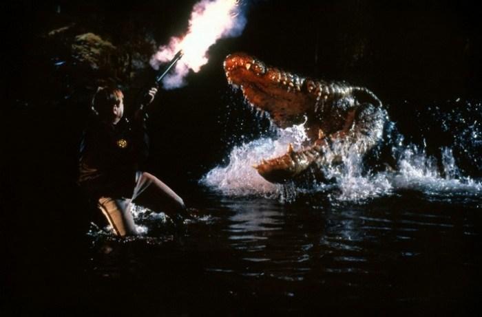 """""""Lake Placid"""" là tựa phim cá sấu nổi tiếng đối với khán giả Hollywood."""