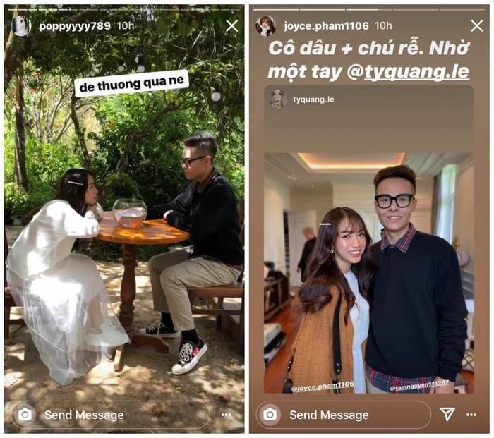 Hình ảnh Minh Anh chụp cùng bạn trai đã thêm phần khẳng định thông tin rằng cô nàng sắp lấy chồng.