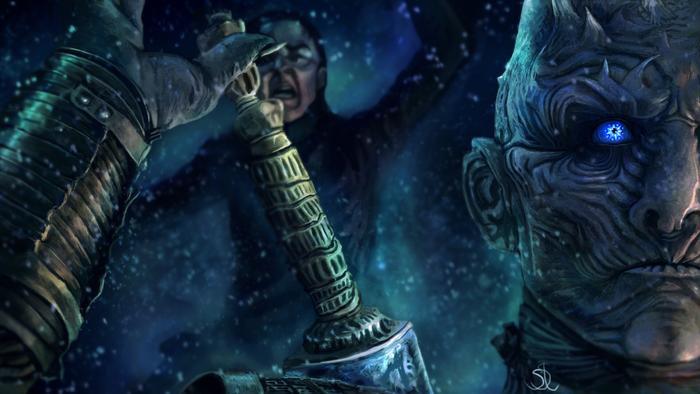 Game of Thrones đã quyết định cắt bỏ hành trình Arya tiến vào Rừng thiêng vì cho rằng nó không quan trọng ảnh 1