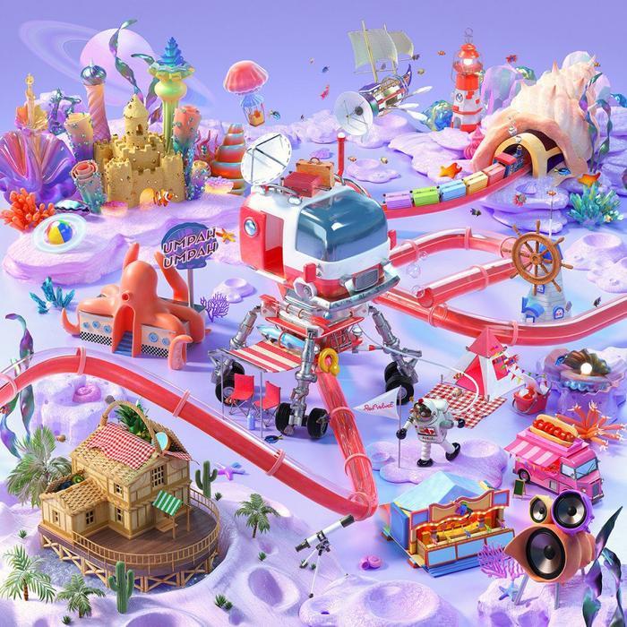Poster Reve Festival: DAY2 của Red Velvet.