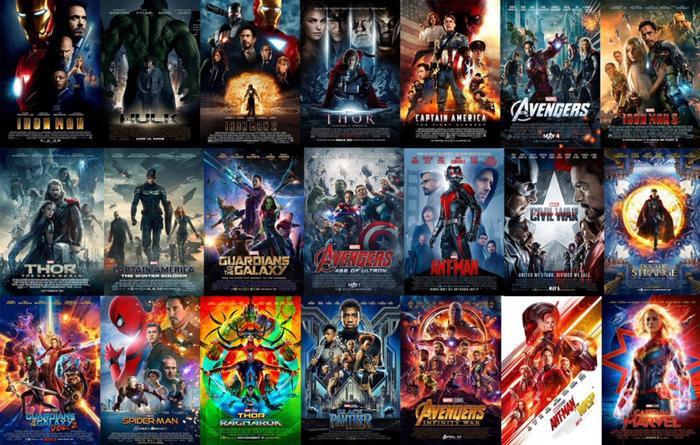 23 bộ phim đã được ra mắt trong 11 năm.