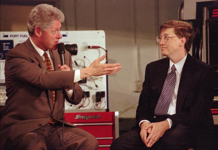Tỷ phú Bill Gates đã từng tiên đoán về hệ thống giám sát nhà thông minh. (Ảnh:AP Photo/Wilfredo Lee)