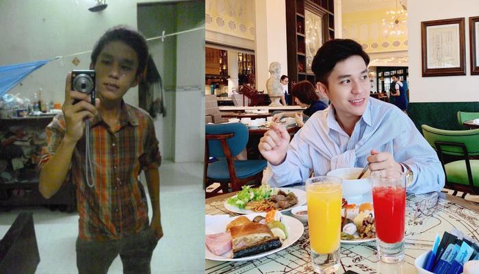Before và After của Đức Huy.