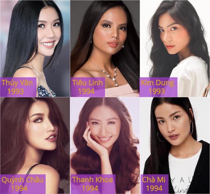 6 gương mặt nổi bậtsẽ 'quá lứa lỡ thì' nếu như không dự thi Miss Universe Vietnam 2019.
