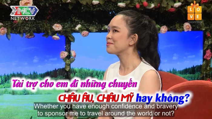 Cô gái đòi bạn trai tài trợ đi du lịch châu Âu trên sóng truyền hình nhận vô số gạch đá từ cộng đồng mạng
