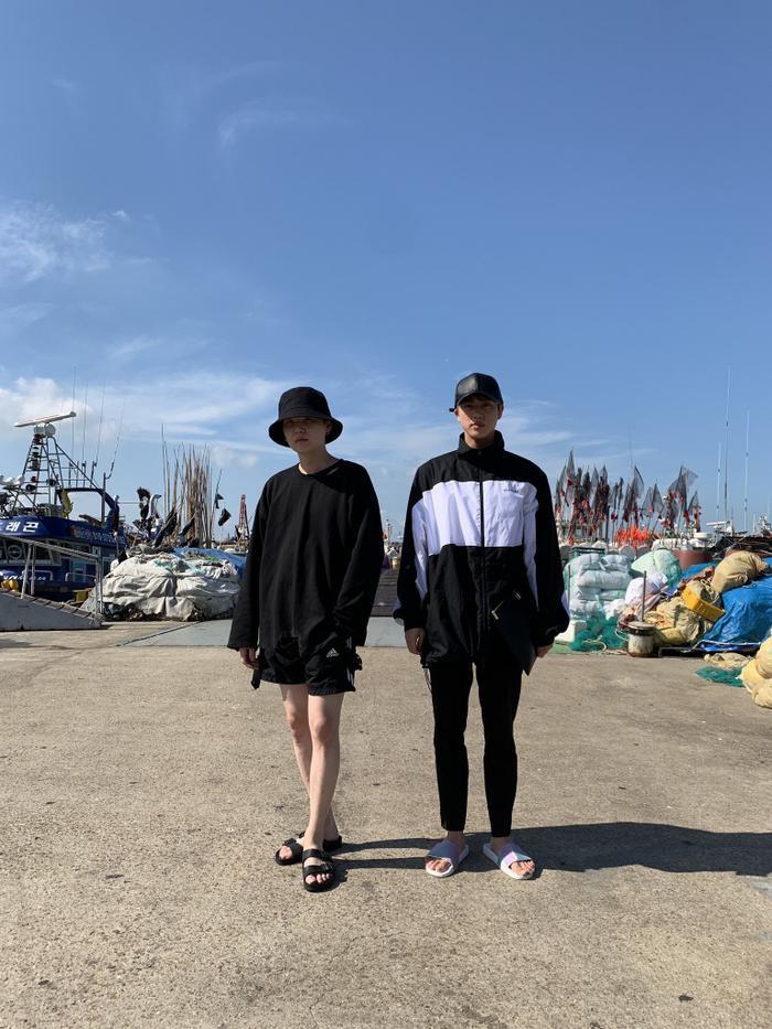 Jin và Suga.