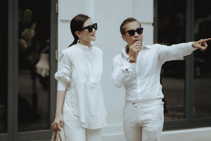 MC Huyền Châu đồng hành với Fashionisto Thuận Nguyễn