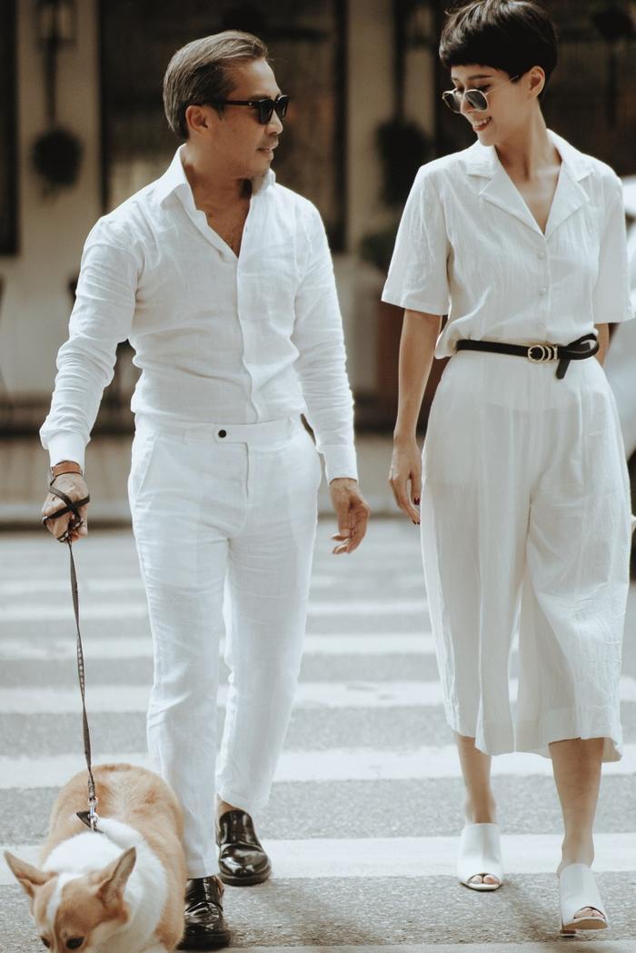 Những mẫu đồ trắng- ngà thanh mát nhẹ nhàng rất hợp với mùa hè thu
