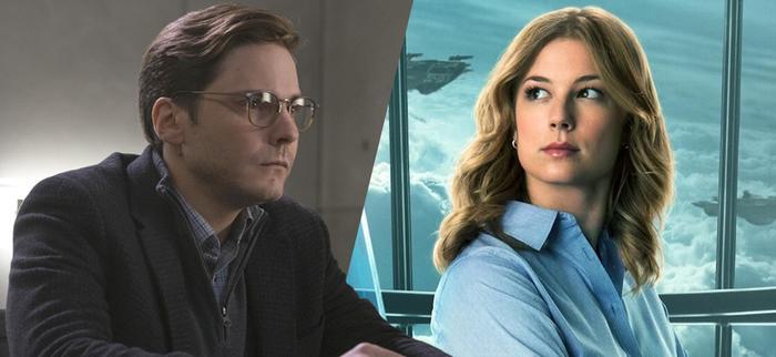 Daniel Brühl và Emily VanCamp trong vai Baron Helmut Zemo và điệp viên Sharon Carter.