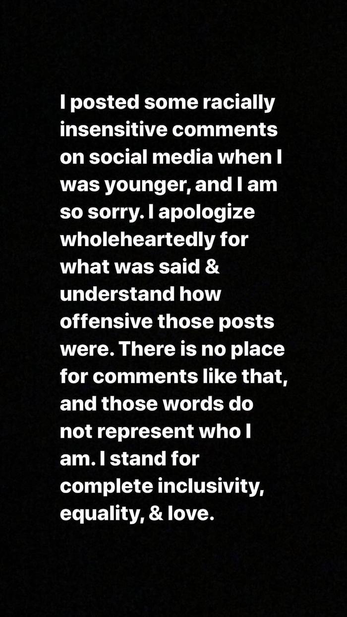 Nguyên văn dòng tweet xin lỗi của Shawn Mendes.