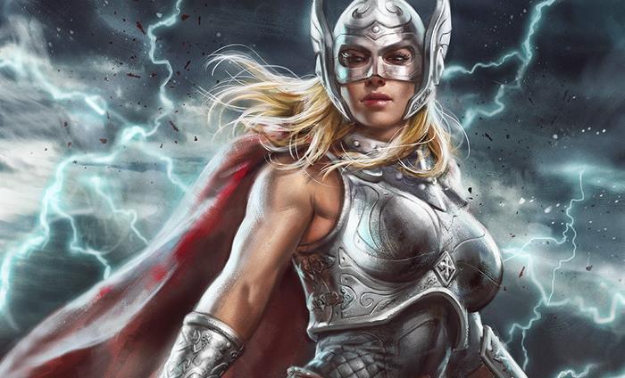 Jane Foster chính là Thor phiên bản nữ trong phần phim thứ 4 của vị thần sấm hùng mạnh.