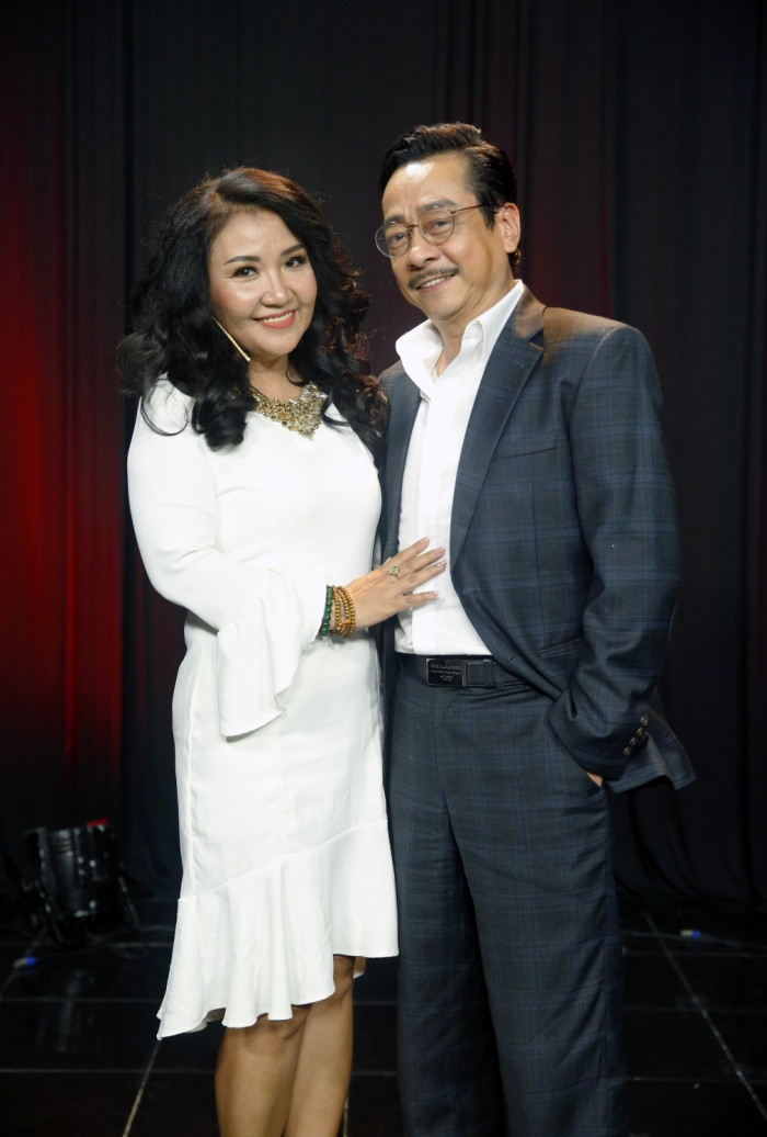 NSND Hoàng Dũng và diễn viên Ngân Quỳnh