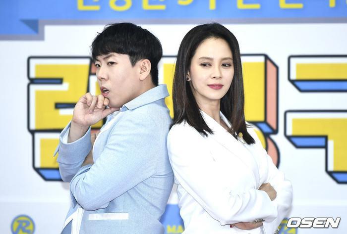 """""""Mợ ngố"""" Song Ji Hyo quyến rũ, bừng sáng cạnh Yang Se Chan."""