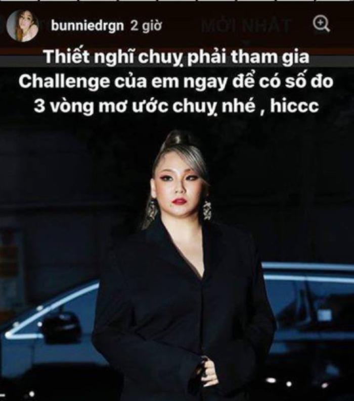 Dòng story gây tranh cãi của Hải Yến về nữ ca sĩ CL