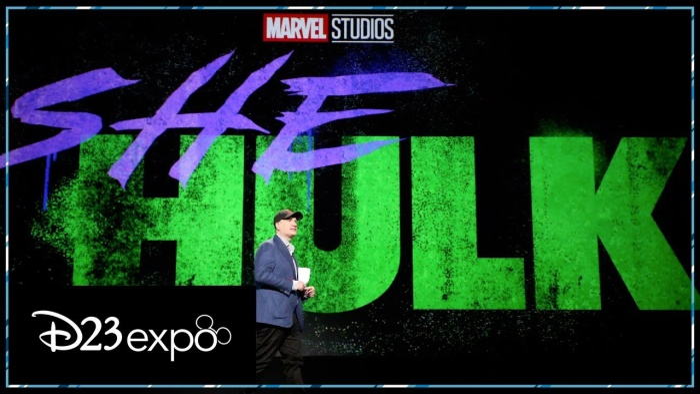She-Hulk đã được giới thiệu tại sự kiện D23 Expo.